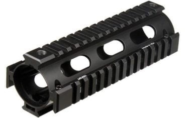 UTG Pro Drop-In Carbine AR-15 Quad Rail - 2-Piece - with Rail Covers - MTU001
