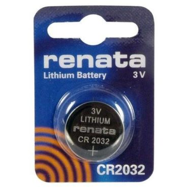 Renata CR2032 Litium Battery - Multiple Quantities Available