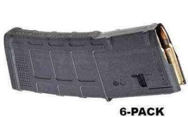 6-Pack - Magpul PMAG M3 30 Round - .223 / 5.56 NATO - MAG557