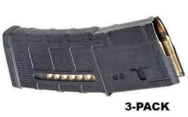3-Pack - Magpul PMAG M3 30 Round Window - .223 / 5.56 NATO - MAG556
