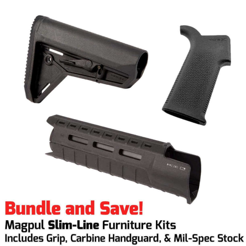 Magpul MOE SL™ SLIM LINE Furniture Kit - Stock, Grip & M-LOK Carbine Handguard