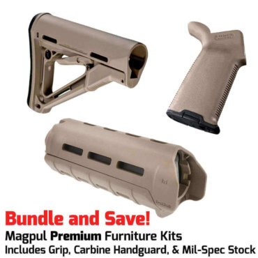 Magpul PREMIUM AR-15 Furniture Kit - CTR Stock, MOE+ Grip & M-LOK Carbine Handguard