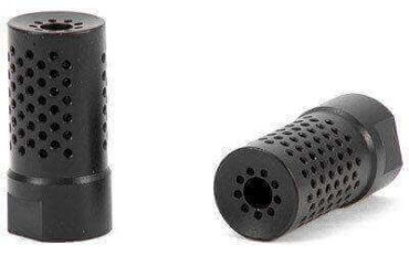 "Spike's Dynacomp ""Shorty"" Extreme Muzzle Brake Black -  AR-15 .223/5.56 - SBV1021"