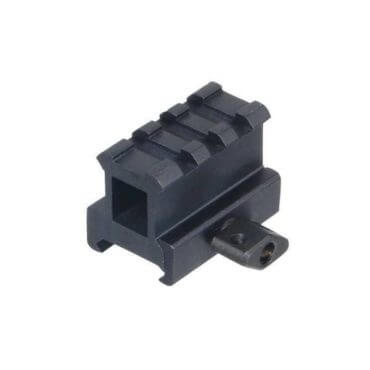 UTG High Profile 1 Inch Riser Mount - 3 Picatinny Slots - MNT-RS10S3