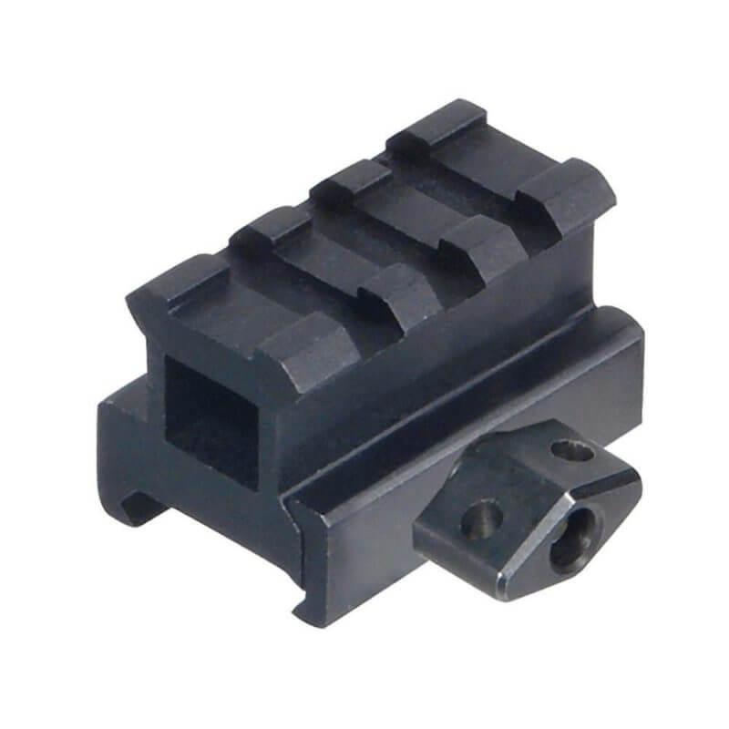 UTG Medium Profile .83 Inch Riser Mount - 3 Picatinny Slots - MNT-RS08S3