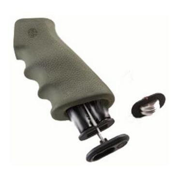 Hogue AR-15 Overmolded Pistol Grip with Storage Kit