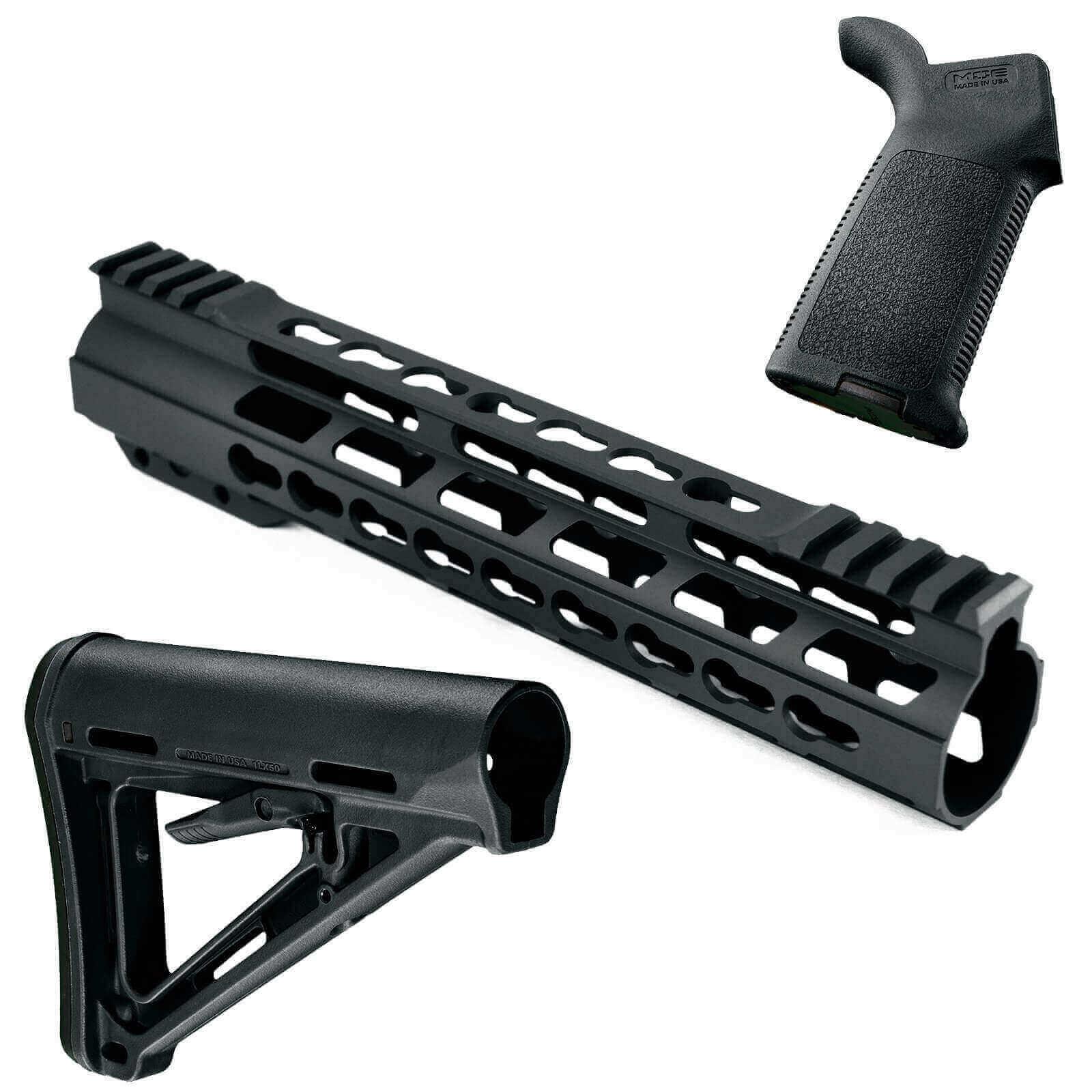At3 Promod K Furniture Kit At3 Keymod Handguard Magpul Stock Grip
