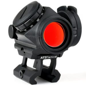 AT3 RD-50 PRO™ Micro Red Dot Reflex Sight w/ Riser Mount & Armor