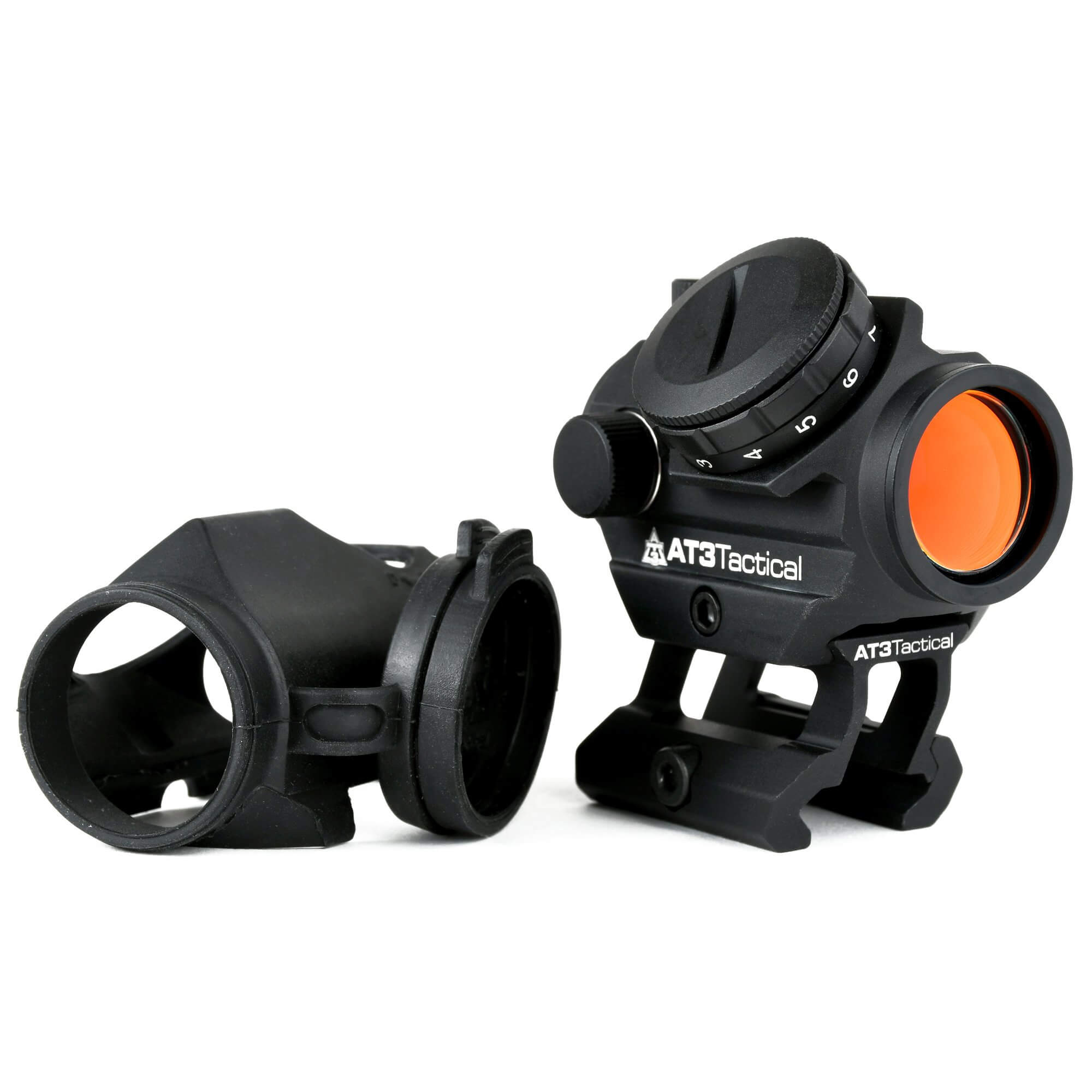AT3™ RD-50 PRO™ Micro Red Dot w/ Riser Mount & Armor