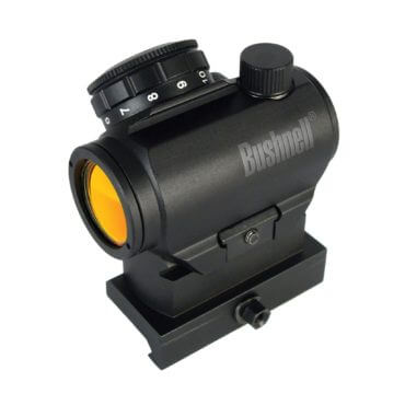 Bushnell Red-Dot Sight with optional Hi-Rise Mount - 3 MOA Dot - AR-15 - TRS-25