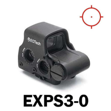 OPEN BOX RETURN - Eotech Holographic Sight EXPS3-0 - CR123 Batt - QD Riser Mount - NV Compatible