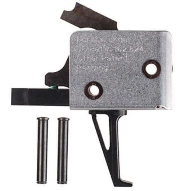 CMC Triggers Single Stage Black Flat Match Trigger 91503