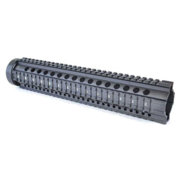 Open Box Return-Black-AT3 Free Float Quad Rail Handguards-Pro Series
