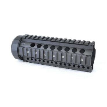 "Open Box Return- Black-AT3 Free Float Quad Rail Handguards-Pro Series- 7"""