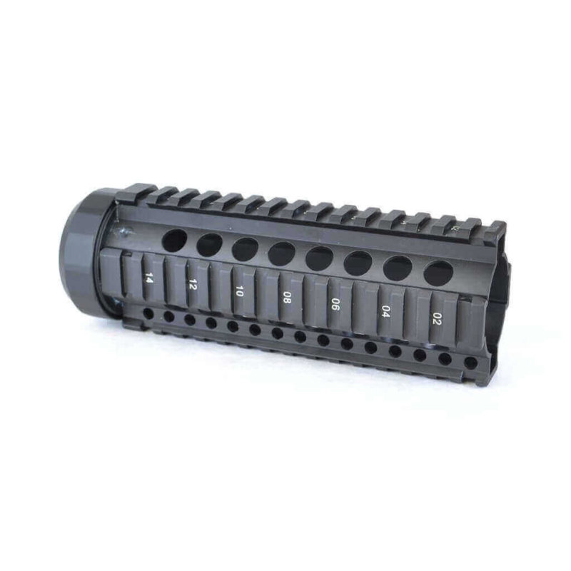 Open Box Return-Black-AT3 Free Float Quad Rail Handguard-Pro Series