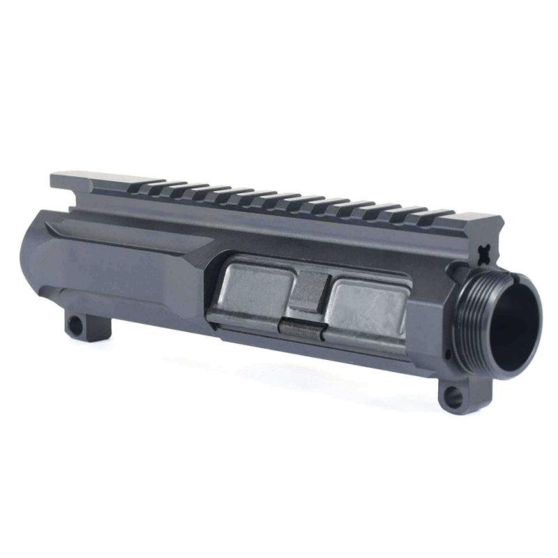 Open Box Return-Black-AT3 Slick Side Upper Billet Upper Receiver for AR-15