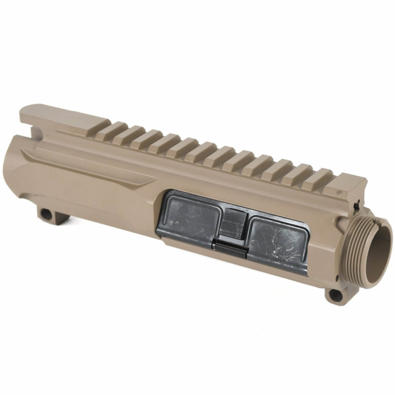 Open Box Return-Flat Dark Earth-AT3 Slick Side Upper Billet Upper Receiver for AR-15