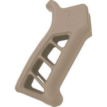 Open Box Return-Flat Dark Earth- Timber Creek Outdoors Enforcer AR Pistol Grip- Pistol Grip For AR-15- E ARPG