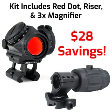 RD-50 PRO and RRDM 3x Magnifier Red Dot Kit