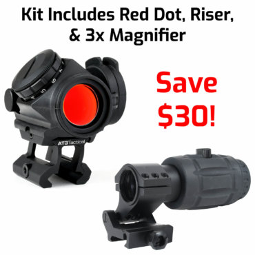 3x Magnifier & Magnified Red Dot Kit