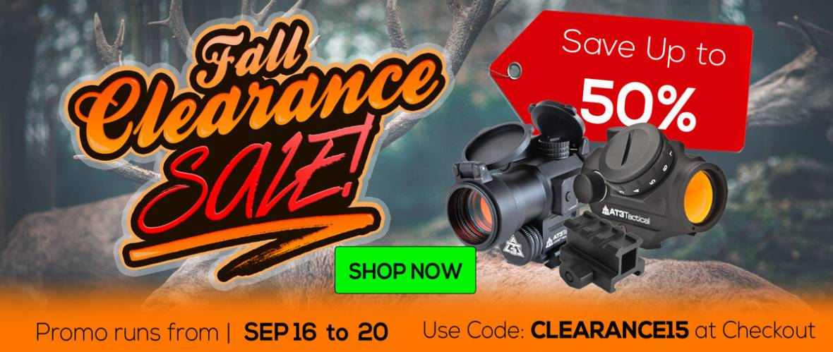 Fall Clearance Sale 2019