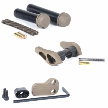 timber-creek-outdoors-parts-pack-ambi-safety-takedown-pivot-pins-extended-mag-release-flat-dark-earth