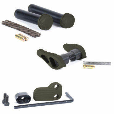 timber-creek-outdoors-parts-pack-ambi-safety-takedown-pivot-pins-extended-mag-release-od-green